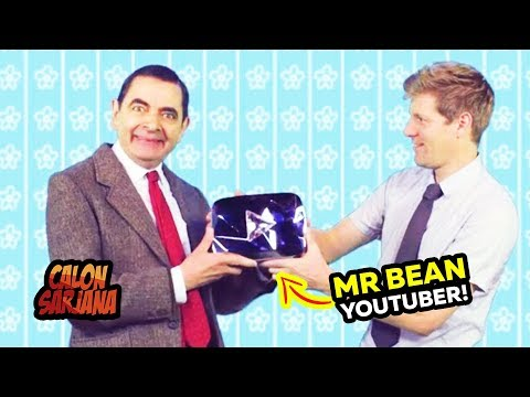 Ketika Mr. Bean Mendapatkan Diamond Play Button, Reaksinya Tidak Ada yang Menyangka.. ??