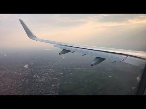 A321NEO 'EOS' LANDING LHR