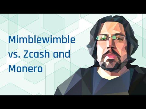 Mimblewimble vs. Grin vs. Zcash vs. Monero