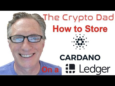 How to Store Cardano ADA on a Ledger Nano S