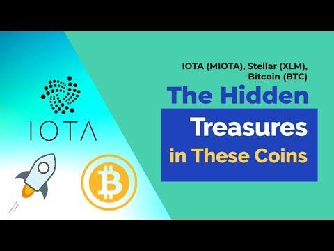 IOTA (MIOTA), Stellar (XLM), Bitcoin (BTC) – The Hidden Treasures in These Coins
