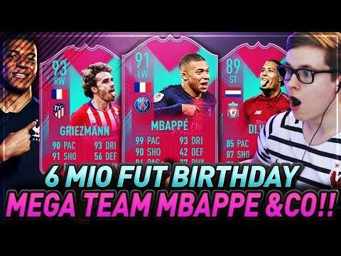 GUCKT EUCH DIESES FUT BIRTHDAY TEAM AN OMG! 6 MILLIONEN COINS ?? FIFA 19 Ultimate Team Squad Builder