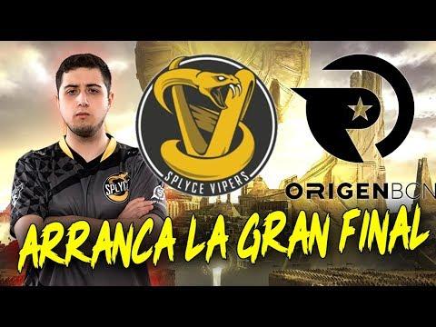 ARRANCÓ LA FINAL -PARTIDAS 1 Y 2- *SPLYCE VIPERS VS ORIGEN BCN* PARTIDAZAS!