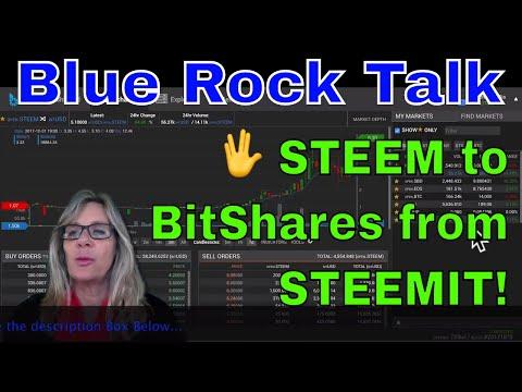 ? Transferring STEEM to BitShares (BTS) from STEEMIT Earnings!