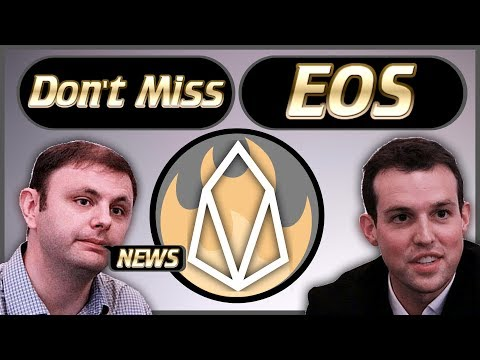EOS Weekly News – New Project Launches – Dan Larimer Tweets – EOS Bugs  – Gaming Is Ready & More