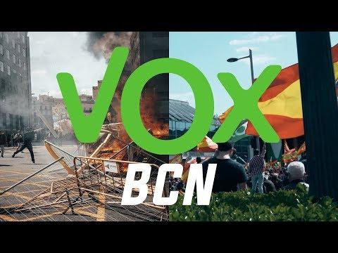 ACTO DE VOX EN BARCELONA | BCN A PIE DE CALLE