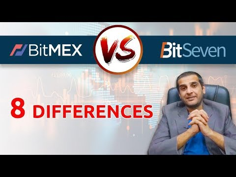 BITMEX vs BITSEVEN. 8 differences of cryptocurrency trading platforms – Quick Review (2019)