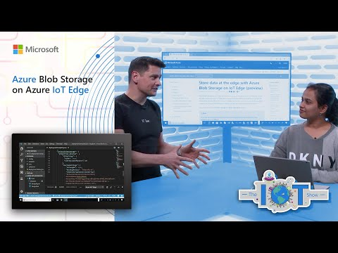Azure Blob Storage on Azure IoT Edge