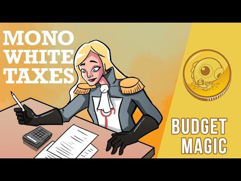 Budget Magic: $93 (13 tix) Mono-White Taxes (Modern, Magic Online)