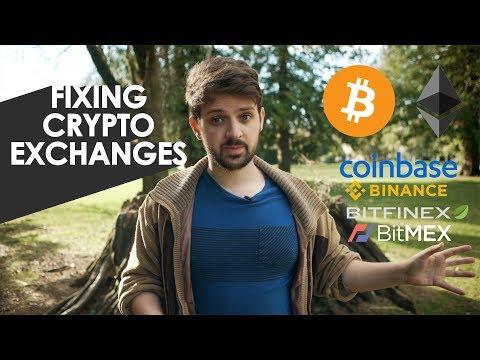 Fixing Cryptocurrency Exchanges