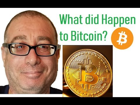 What did Happen to Bitcoin?