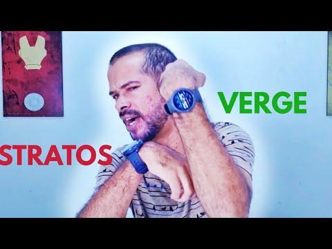 AMAZFIT VERGE VS AMAZFIT STRATOS, COMPARATIVO/ OPINIÃO DO USUÁRIO!