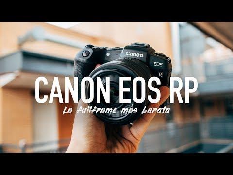 Canon EOS RP – La sin espejo Full Frame más barata ¿Es para ti?