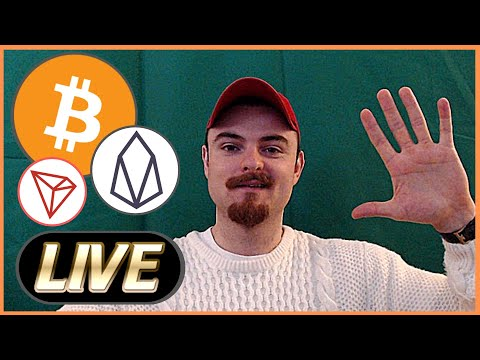 (LIVE) – Bitcoin & EOS News – BTC Bulls are BACK – Overall Crypto Sentiment Chat – Tron News