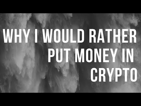 Why I would rather put money into #XRP and Cryptocurrency instead of my 401k