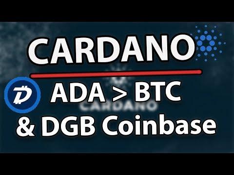 Cardano (ADA) Will Beat Bitcoin & DigiByte Coinbase Debate!