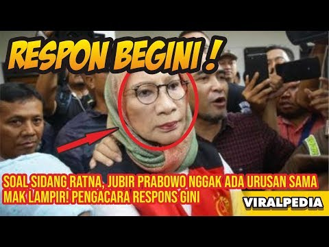 Soal Sidang Ratna, Jubir Prabowo Nggak Ada Urusan Sama Mak Lampir! Pengacara Respons Gini OTOMOTIPS