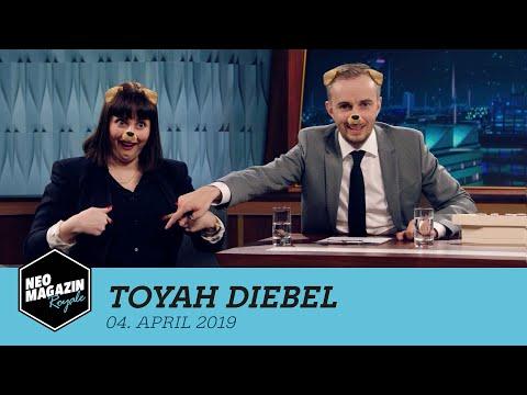 Toyah Diebel zu Gast im Neo Magazin Royale mit Jan Böhmermann – ZDFneo