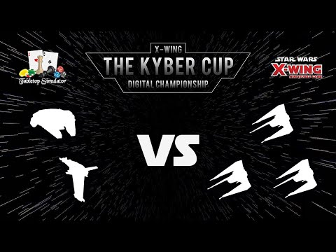 The Kyber Cup Season 2 | X-Wing 2nd Edition | Top 4 | Jdaki vs. Agrosch.bme