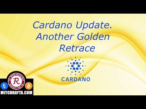 Cardano : ADA Cryptocurrency Update. Golden Retrace. Crypto Technical Analysis