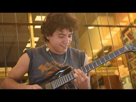 Sia – Chandelier ON THE STREET electric guitar – cover