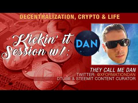 They Call Me Dan x Crypto Blood talk Censorship, DPOS, EOS vs Everybody, Steemit and More!