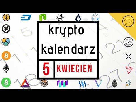 Krypto Kalendarz – 5.04.2019 – Lisk, VeChain, QLC Chain, QuarkChain, IOST