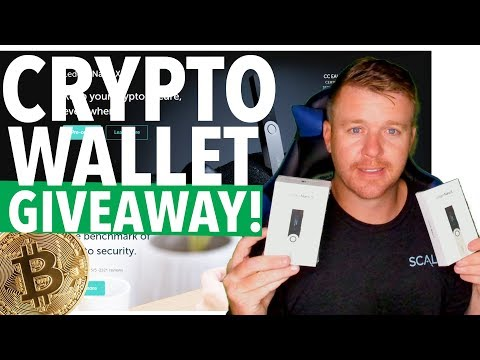 CRYPTOCURRENCY WALLET GIVEAWAY! LEDGER NANO S!