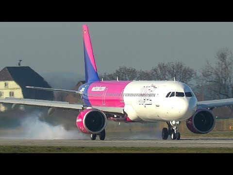 AIRBUS A321 NEO Rejected TAKEOFF with MAX BRAKE FORCE (4K)