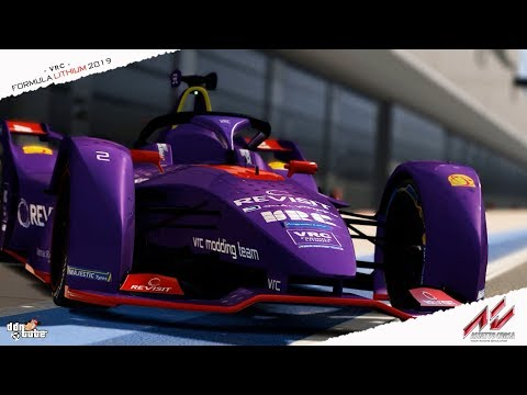 Assetto Corsa Formula Lithium 2019 by VRC