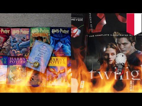 Dianggap ada ilmu sihir, buku Harry Potter dan Twilight dibakar Pendeta- TomoNews