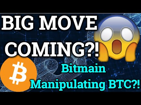 BIG Bitcoin Move Coming?! Bitmain MANIPULATING Price?! Ripple News + Cryptocurrency Trading Analysis