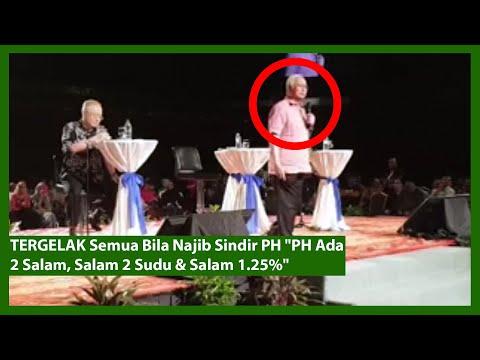 "TERGELAK Semua Bila Najib Sindir PH ""PH Ada 2 Salam, Salam 2 Sudu & Salam 1.25%"""