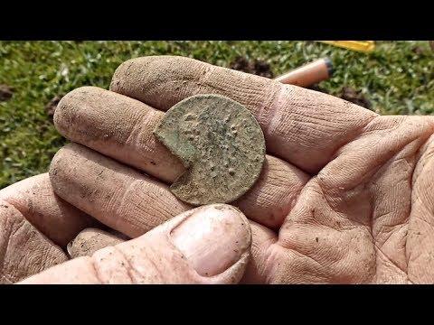 OMG! Found a Cut three quarters coin
