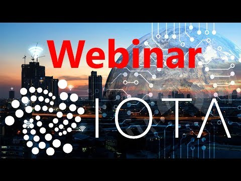 IOTA NEWS: IOTA Smart Cities Webinar – Technical Deep Dive