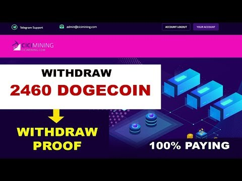 100% PAYING! WITHDRAW LAGI 2460 DOGECOIN PROOF