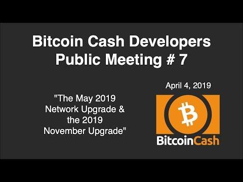 Bitcoin Cash Development video meeting #7 – April 4, 2019
