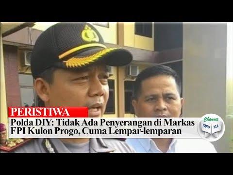 Polda DIY: Tidak Ada Penyer angan di Markaz FPI Kulon Progo, Cuma Lempar-lemparan