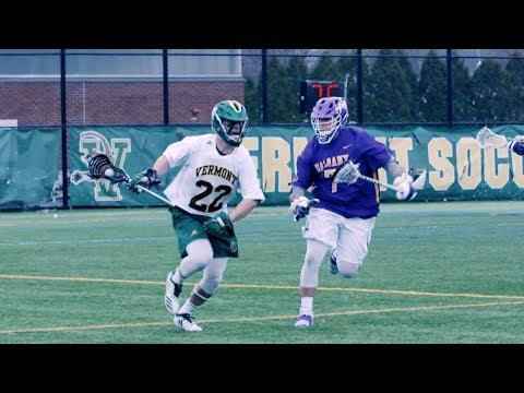Highlights: Vermont Lacrosse Tops Albany 10-9