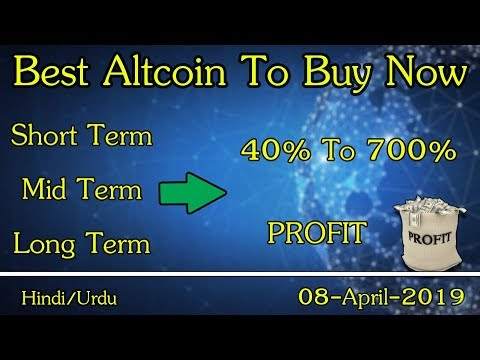 TOP ALTCOIN TO BUY IN APRIL!!! Best Cryptocurrency to Invest in Q1 2019! [Bitcoin News]