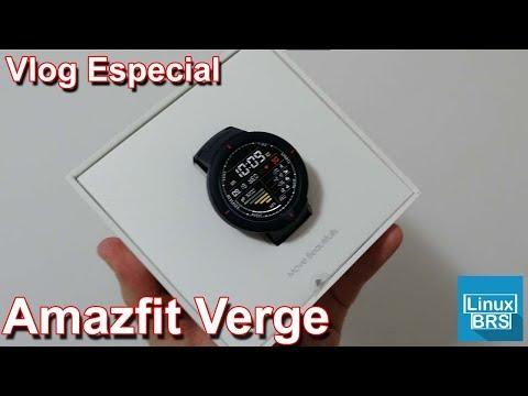 Vlog Especial do Amazfir Verge – Simplesmente ADOREI !!!!!