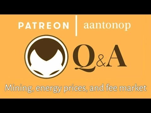 Bitcoin Q&A: Mining, energy prices, and fee market
