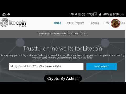 Free Litecoin Mining Site ||1.5 ltc payment proof||Non Investment
