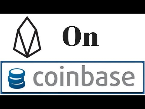 EOS Listed On Coinbase Pro!