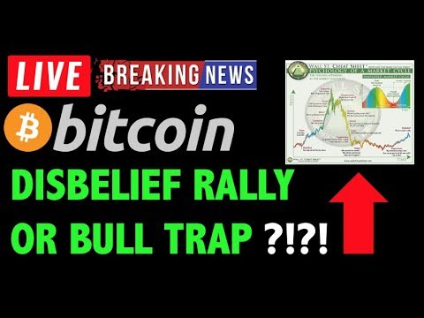 Bitcoin DISBELIEF RALLY OR BULL TRAP?! -Crypto Trading Analysis & BTC Cryptocurrency Price News 2019