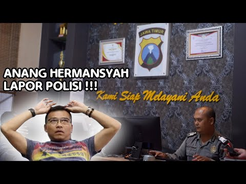 ANANG HERMANSYAH LAPOR POLISI.. WADUH ADA APA?!