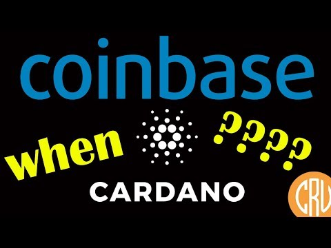 Coinbase Adds EOS, Augur and MakerDao – WHEN CARDANO?