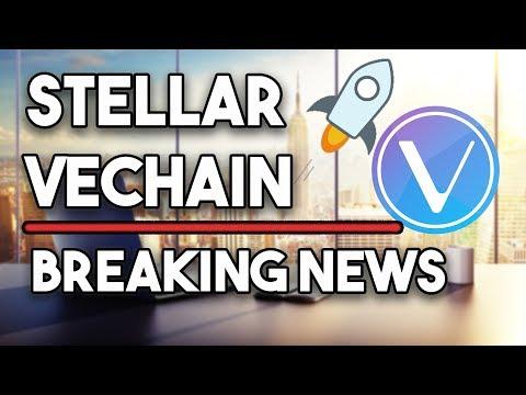 Stellar (XLM) Bull Run Is Not As Anticipated & VeChain (VET) New Launch & Sponsor!