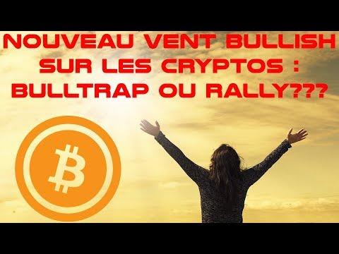 Épisode 64 : nouveau vent bullish sur les cryptos. Bitcoin, à la hausse sur 2019???