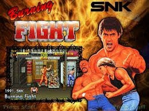 Anecdote – Burning Fight – Neo Geo AES